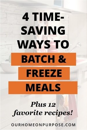 4 time-saving ways to batch and freeze meals, with recipes