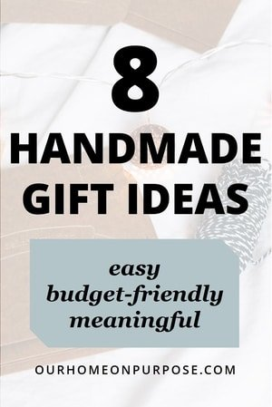 easy budget-friendly DIY handmade gift ideas