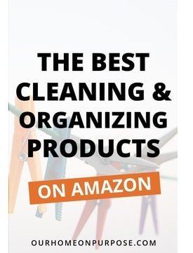 best products for a clean and organized home